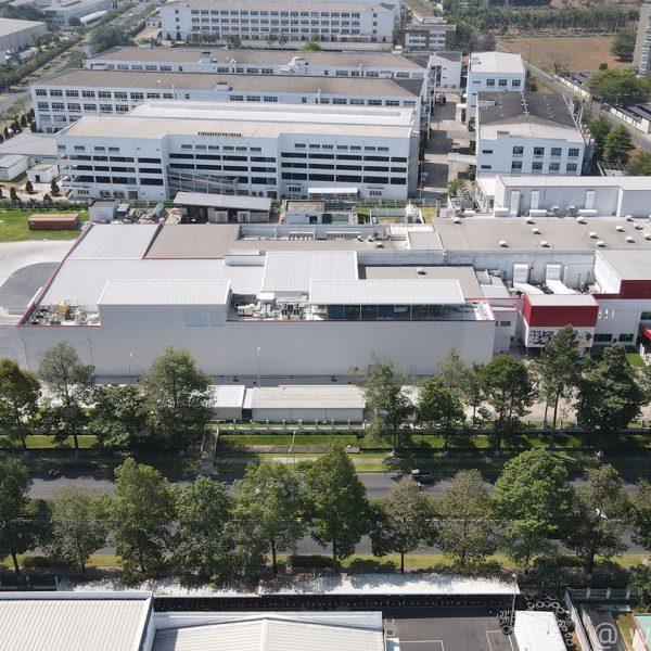 Yakult yogurt manufacturing factory extension