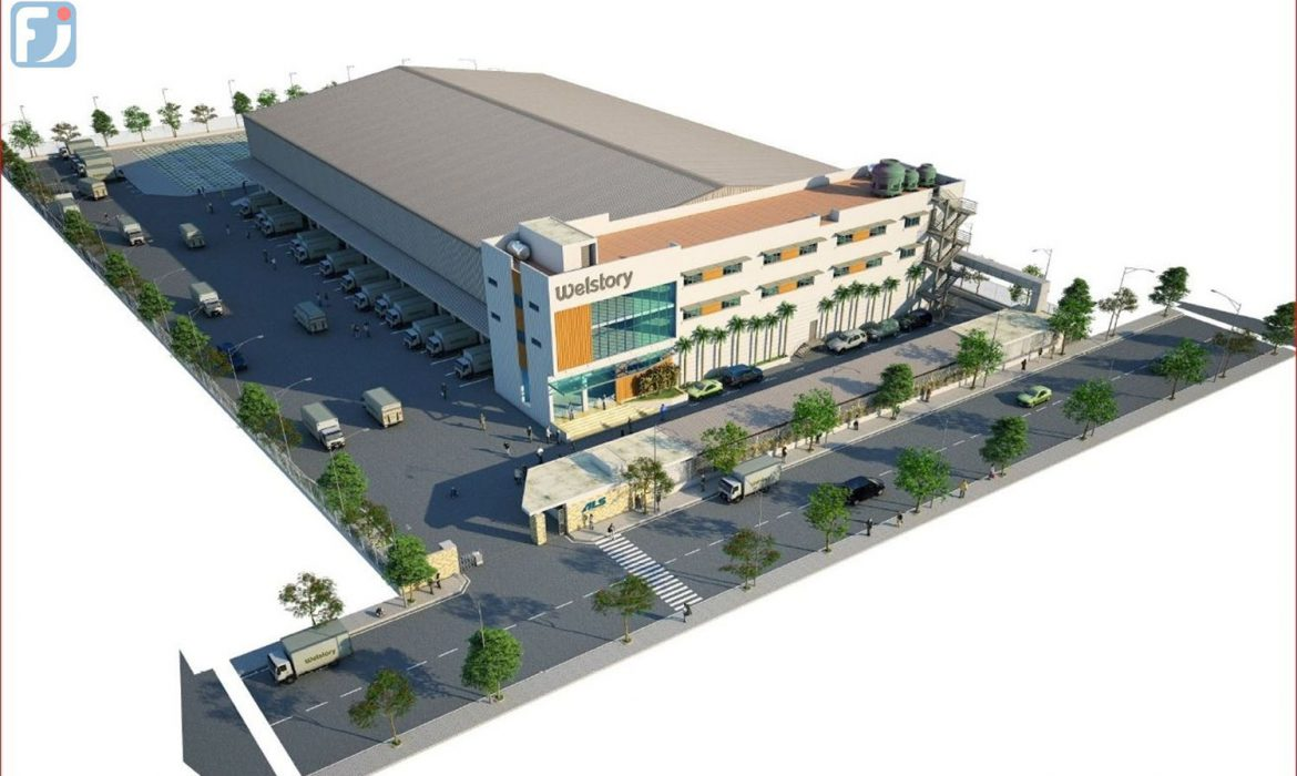 Welstory cold Storage warehouse and office